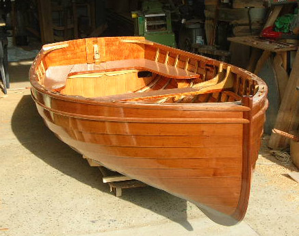 Wooden Row Boat Dinghy for Sale